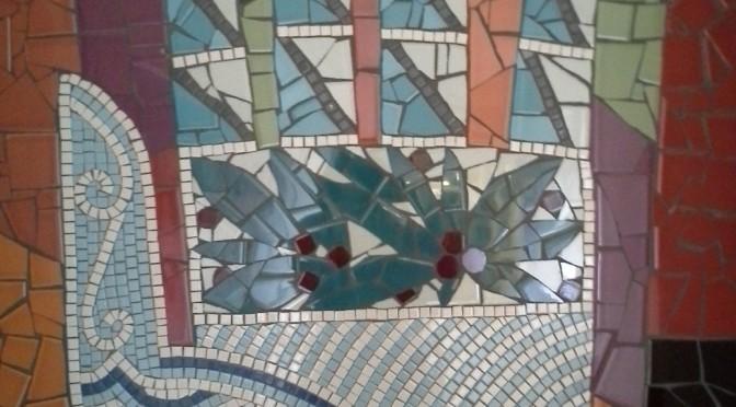 Mosaic hand